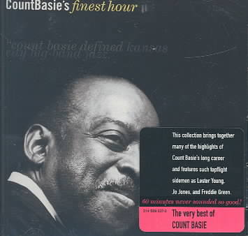 COUNT BASIE'S FINEST HOUR BY BASIE,COUNT (CD)